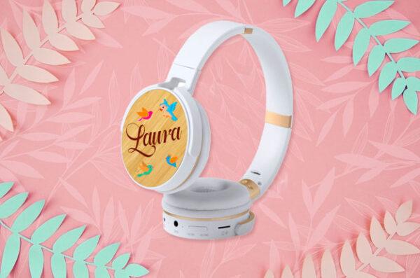 auriculares de diadema personalizados